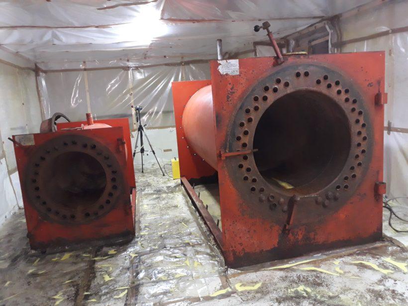 Bonifica di centrali termiche, cisterne e serbatoi di combustibile